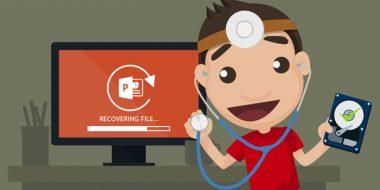 آموزش 4 روش بازیابی و برگرداندن فایل پاورپوینت ذخیره نشده ، پاک شده و..