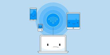 حل مشکل وصل نشدن کامپیوتر و لپ تاپ به اینترنت گوشی ، وای فای و..