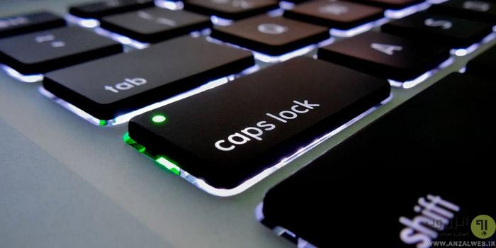 دکمه Caps Lock کیبورد چیست؟ تنظیم اطلاع رسانی و حل مشکل کار نکردن Caps Lock