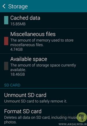 حل مشکل memory card corrupted