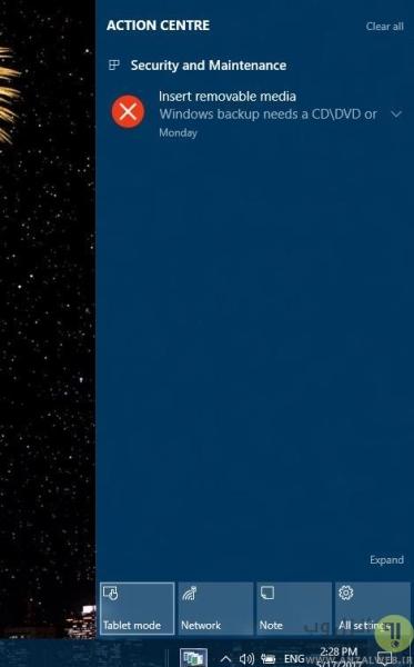 حل مشکل غیر فعال شدن کلیک راست در ویندوز 10 و 8 با غیر فعال کردن Tablet Mode