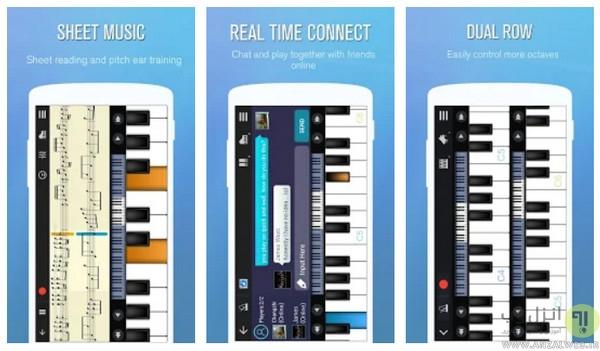 دانلود نرم افزار آموزش پیانو