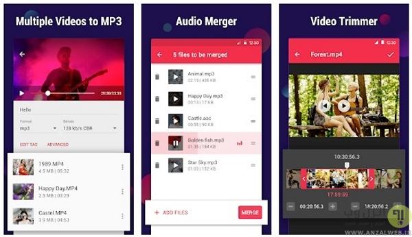 تبدیل فرمت فیلم اندروید باInshot – Video to MP3 Converter