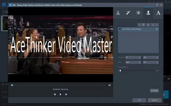 ویرایشگر داخلی ویدیو