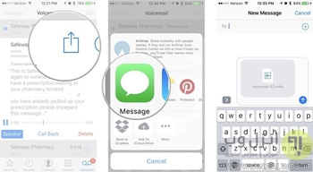 voicemail در آیفون