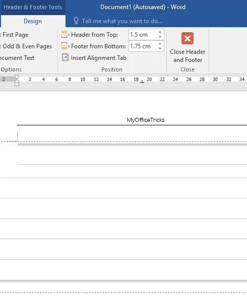 چگونه در ورد کاغذ خط دار درست کنیم؟ روش ایجاد کاغذ خط دار در ورد