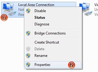 چک کردن تنظیمات شبکه برای حل مشکل نرفتن به تنظیمات مودم