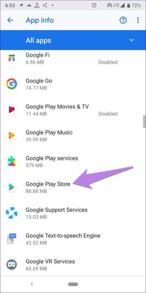 رفع مشکل دانلود از گوگل پلی با اعطای مجوز های لازم