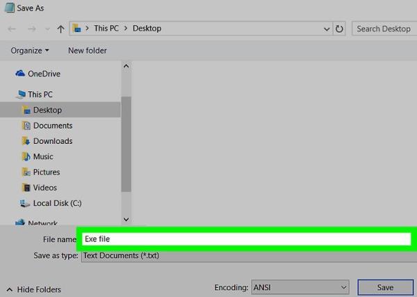 آموزش ساخت فایل setup بدون برنامه