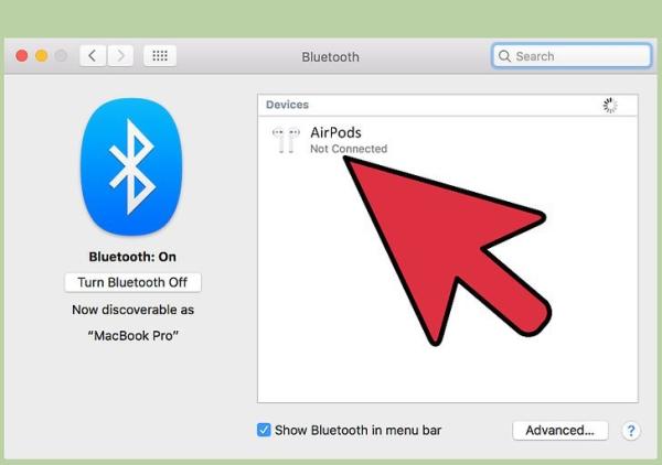 آموزش کار با AirPods pro، جفت کردن ایرپاد با Mac