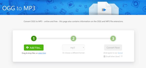 تبدیل فرمت OGG به MP3 آنلاین