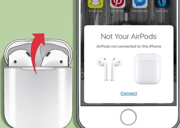 آموزش کار با AirPods، جفت کردن ایرپاد با آیفون (iOS 10.2 و جدیدتر)