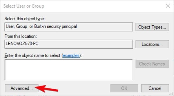 برسی مجوز ها برای رفع مشکل کپی نشدن فایل روی فلش