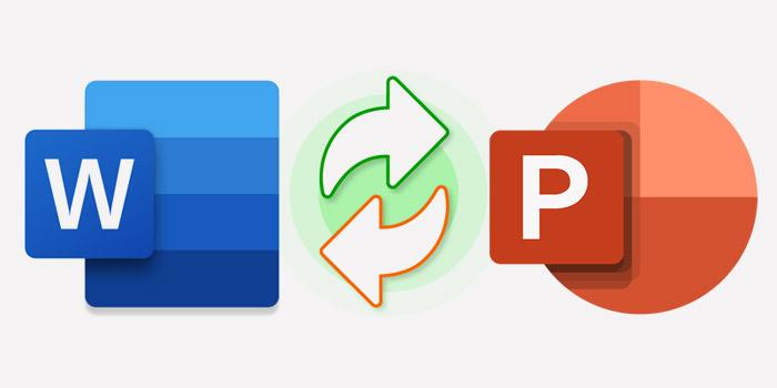 تبدیل فایل ورد به پاورپوینت