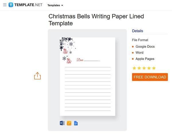 دانلود کاغذ خط دار در ورد (استفاده از قالب)