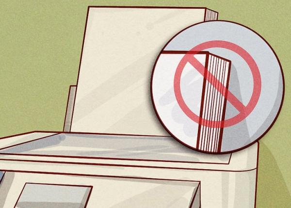 رفع خطای jam in cartridge area در پرینتر اداری