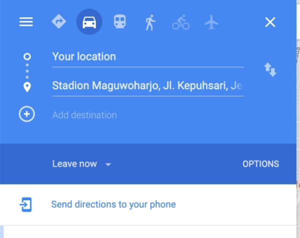 ایجاد یک مسیر سفارشی در گوگل مپ