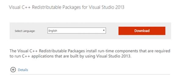 رفع مشکل ارور Msvcp120.dll با نصب مجدد Visual C++ Redistributable