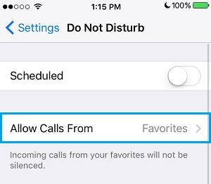 استفاده از Do Not Disturb در آیفون (رد تماس شماره ناشناس در آیفون)