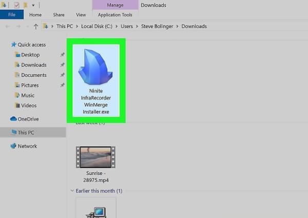 ساخت فایل ISO از دیسک روی ویندوز