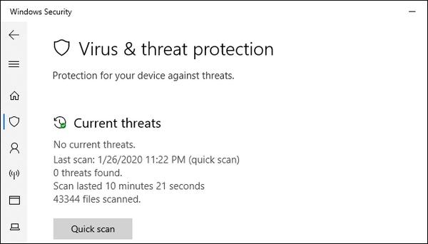 امنیت آنتی ویروس ها