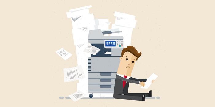 آموزش 4 روش رفع مشکل گیر کردن کاغذ و ارور Paper Jam در پرینتر و اسکنر