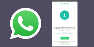 4 روش حل مشکل ارور This Version of Whatsapp Became Obsolete
