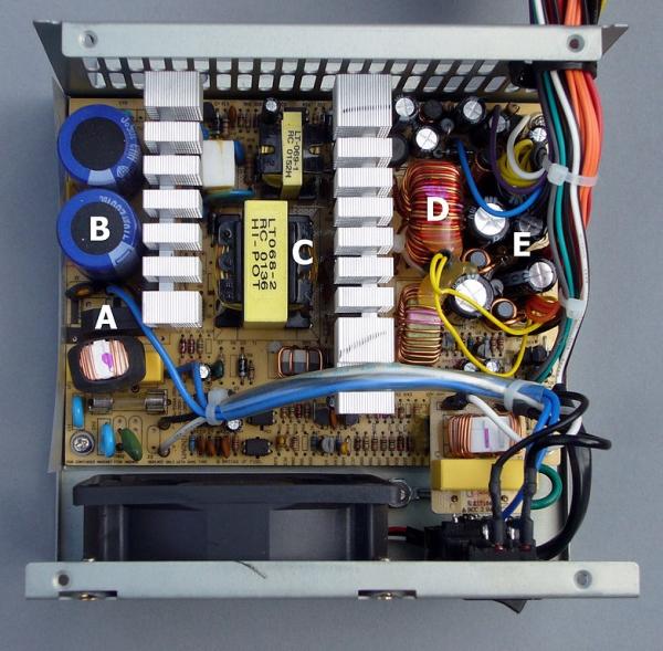 تعمیر پاور کامپیوتر، مشکلات شایع پاور