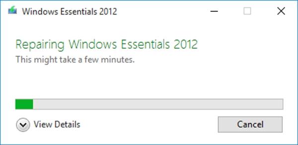 حذف Windows Live Essentials