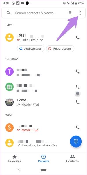 علت نشان ندادن تماس بی پاسخ چیست؟ خاموش کردن Caller ID و محافظت از اسپم برای رفع آن