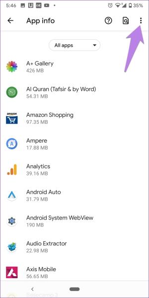 ریست کردن App Preferences برای رفع مشکل عدم نمایش تماس بی پاسخ