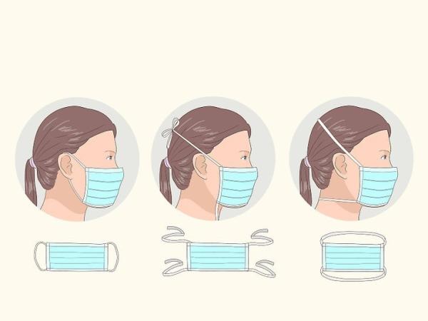 قرار دادن صحیح ماسک روی صورت (نحوه صحیح ماسک زدن)