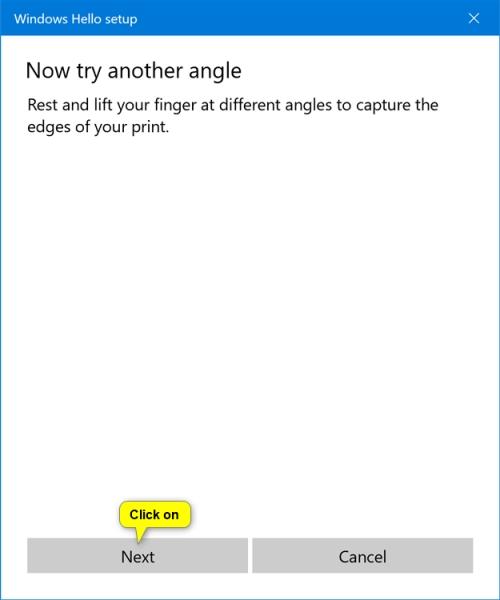 فعال کردن اثر انگشت لپ تاپ در ویندوز 10