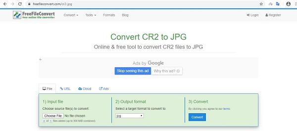 تبدیل فرمت عکس cr2 به jpg