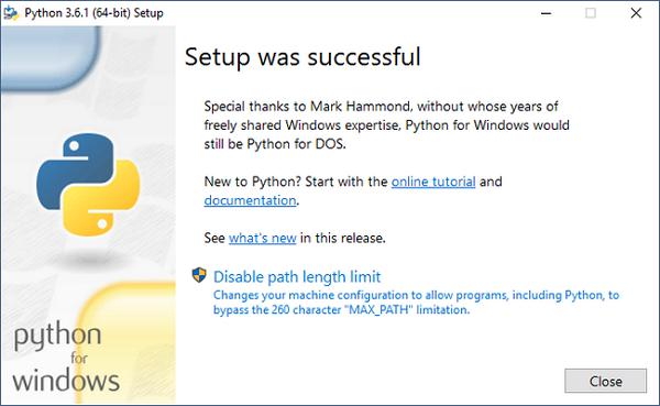 آموزش نصب python