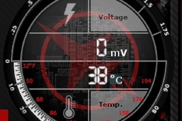 رفع مشکل display driver stopped responding از طریق چک کردن درجه حرارت