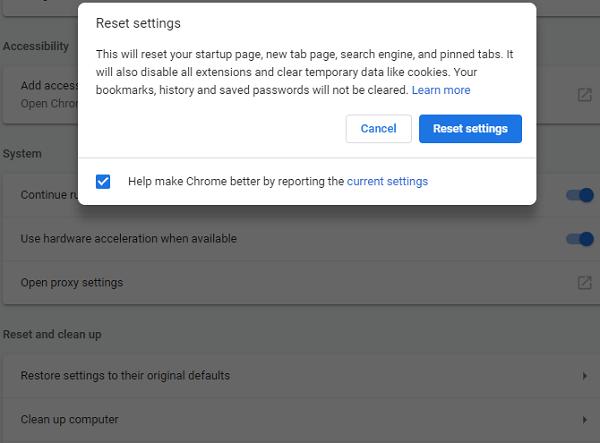 افزایش سرعت دانلود مرورگر گوگل کروم از طریق استفاده از پروفایل دیگر و دوباره نصب کردن Chrome
