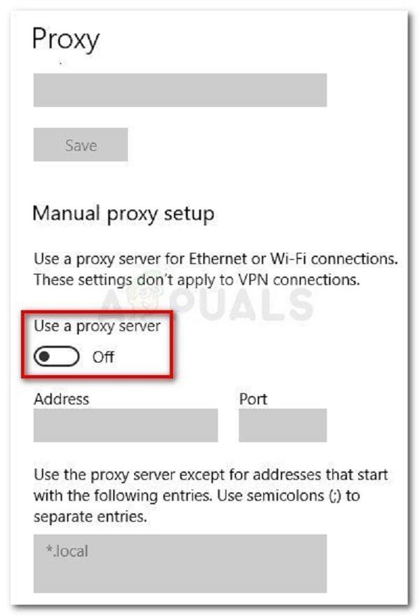 رفع ارور windows protected your pc با غیر فعال کردن پروکسی