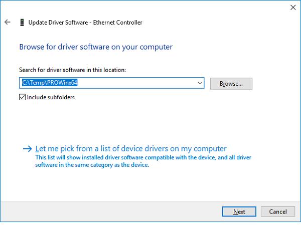 آموزش نصب درایور کارت شبکه در ویندوز