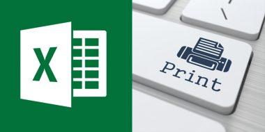 آموزش کامل تصویری تنظیمات پرینت و پرینت گرفتن فایل اکسل