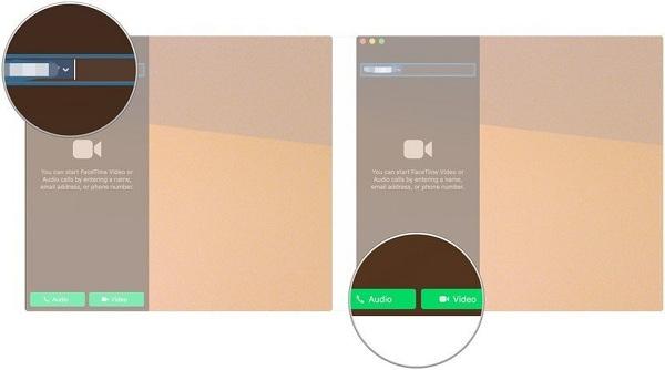 آموزش کار با فیس تایم در Mac