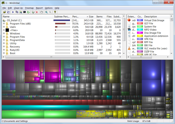 حل مشکل low disk space با آنالیز کردن هارد دیسک