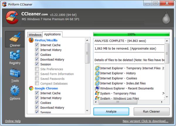 حل مشکل اخطار Low Disk Space با حذف فایل های موقت