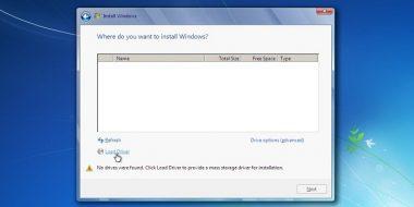 5 روش حل مشکل نشناختن و پیدا نکردن درایو هنگام نصب ویندوز 10 ، 8 و 7
