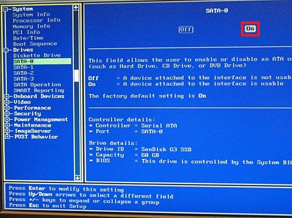 رفع مشکل نشناختن هارد هنگام نصب ویندوز 10 ، 8 و 7 از طریق شناساندن هارد به بایوس