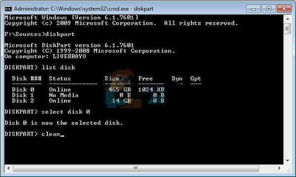 حل مشکل پیدا نکردن درایو در نصب ویندوز با استفاده از فرمت کردن هارد دیسک
