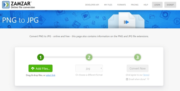 تبدیل عکس PNG به JPG