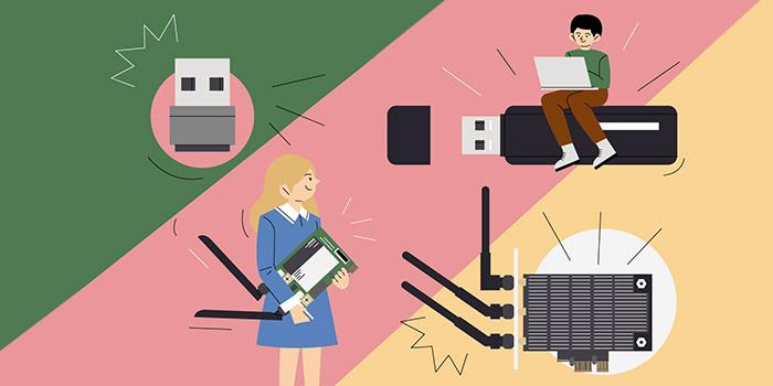 آموزش تصویری نصب کارت شبکه LAN ، USB و وای فای در ویندوز 10 ، 8 و 7