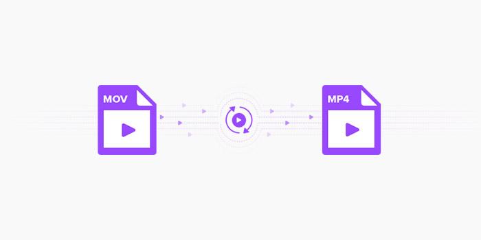 تبدیل فرمت فایل MOV به MP4 آنلاین و آفلاین