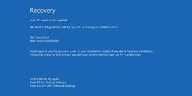 حل مشکل ارور Your PC Device Needs to Be Repaired ویندوز